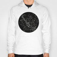 constellations Hoodies featuring Constellations  by Terry Fan