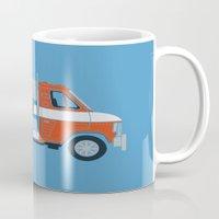 van Mugs featuring Optimus Van by Brandon Ortwein