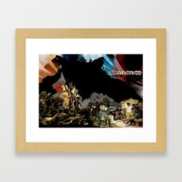 Liberty Dies Easy Framed Art Print