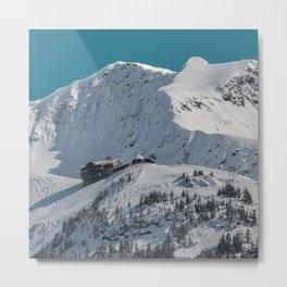 Mt. Alyeska Ski Resort - Alaska Metal Print