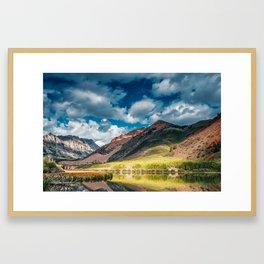 North Lake Spring Framed Art Print