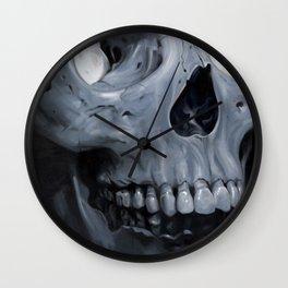 Skull Wall Clock