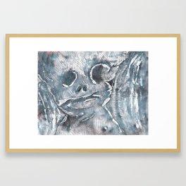 Jiggle Framed Art Print