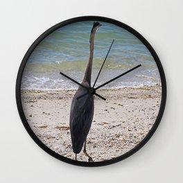 Restless Summer Wall Clock