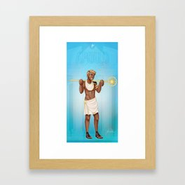 Greek Gods - Apollo Framed Art Print