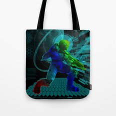 Halo Splash Art Tote Bag