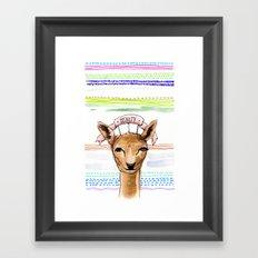 BEAUTY / Nr. 1 Framed Art Print