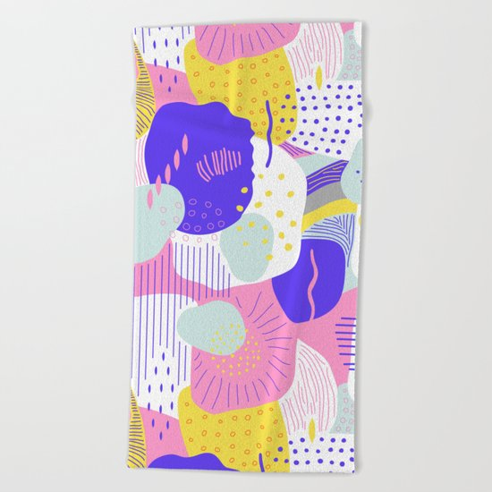 Submarine Beach Towel