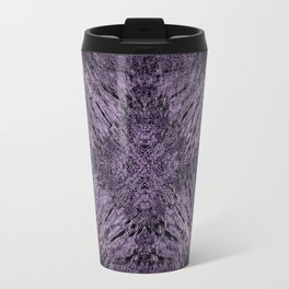 Mandala Motion Purple Travel Mug