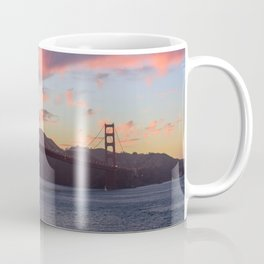 Golden Gate at sunset Coffee Mug