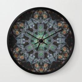 Super Purple Star Wall Clock