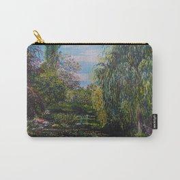 Monet's Garden Carry-All Pouch