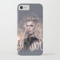 bad wolf iPhone & iPod Cases featuring Bad Wolf by jasric