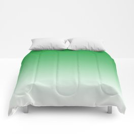 Green Light Ombre Comforters