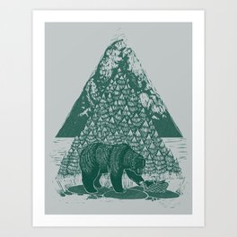 Teddy Bear Picnic Art Print