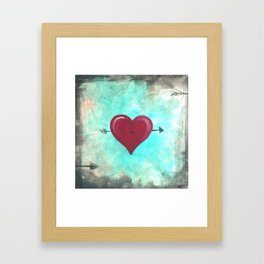 Rustic Heart Framed Art Print