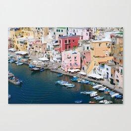 Procida Island, Italy Canvas Print