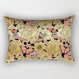 Golden Dream Rectangular Pillow