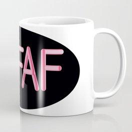 Gluten Free #GFAF Pink Coffee Mug