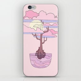 Peachy Peaceful iPhone Skin