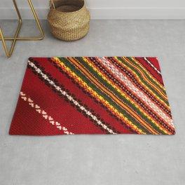 Authentic Bulgarian tablecloth Rug