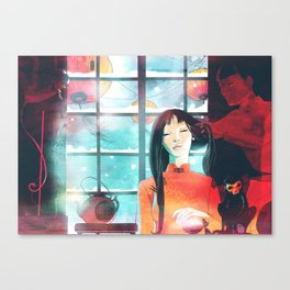 China teatime Canvas Print