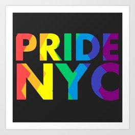 PRIDE NYC Art Print