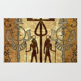 Egyptian sign Rug
