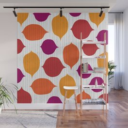 Shapes and Threads Wall Mural