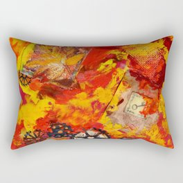 There is Nothing Left For You Back There Rectangular Pillow