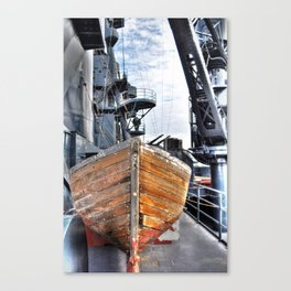 USS Lifeboat Canvas Print