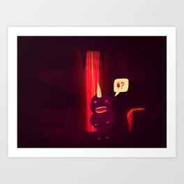 It's Getting hot in here. Art Print