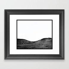 Sleeping Volcano... Framed Art Print