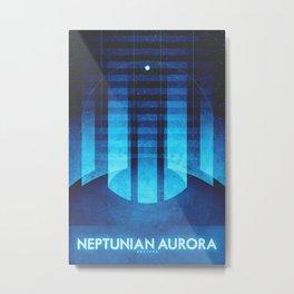 Neptune - Neptunian Aurora Metal Print
