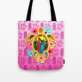 Hawaiian Surf Sunset Tote Bag
