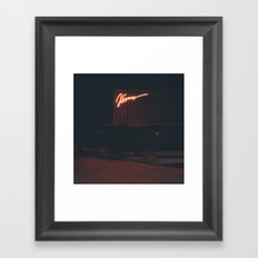 Kosmos Framed Art Print