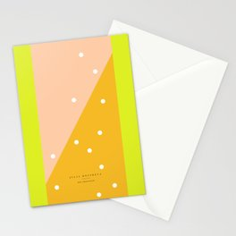 peach - 5c/4s/4 Stationery Cards