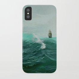 Perilous Green iPhone Case