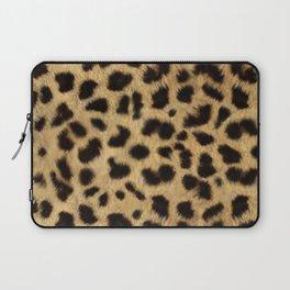 Faux Cheetah Skin Design Laptop Sleeve