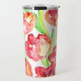 Mothers Day Tulips Travel Mug