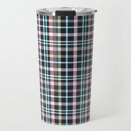 A simple checkered pattern . Travel Mug