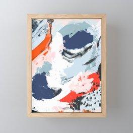 Abstract Color Pop Framed Mini Art Print