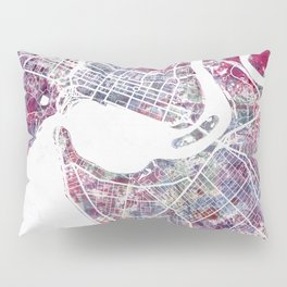 Perth map Pillow Sham