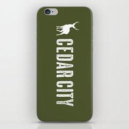 Deer: Cedar City, Utah iPhone Skin