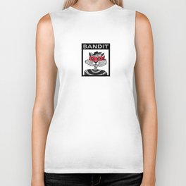 Bandit Brother I by Lauren Mayhew Biker Tank