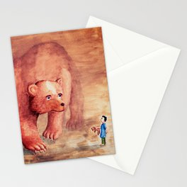 Teddy Bear's Family Stationery Cards