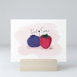 Smack Mini Art Print