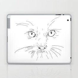 cat's eyes, drawing Laptop & iPad Skin