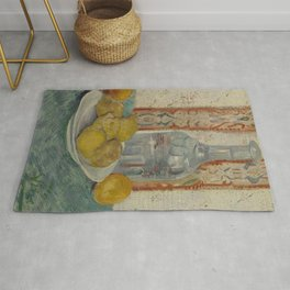 Carafe and Dish with Citrus Fruit Rug