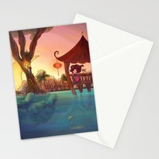 Friends from afar Stationery Cards